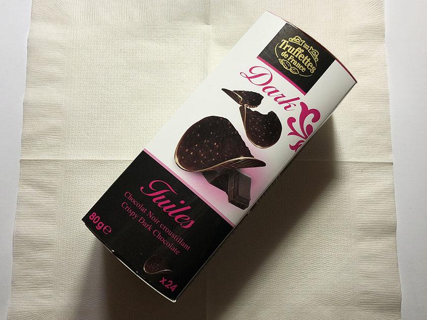 黒×ピンクがおしゃれなパッケージ